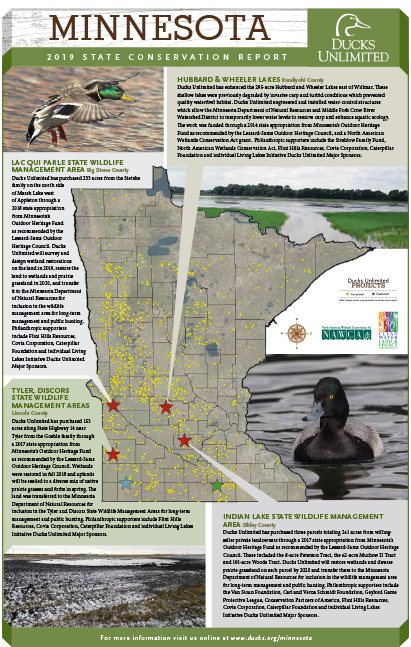 Minnesota Conservation Projects